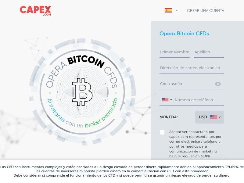 CAPEX.com - BITCOIN -CPA - ES