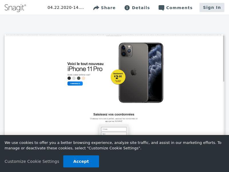 feelinglucky iPhone 11 Pro | FR