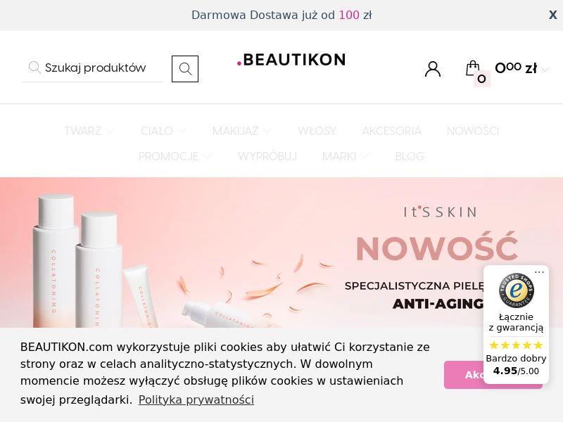 Beautikon - PL (PL), [CPS], Health and Beauty, Cosmetics, Sell, coronavirus, corona, virus, keto, diet, weight, fitness, face mask