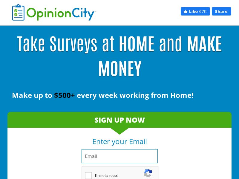 Opinion City - Email Submit - US [EMAIL ONLY]