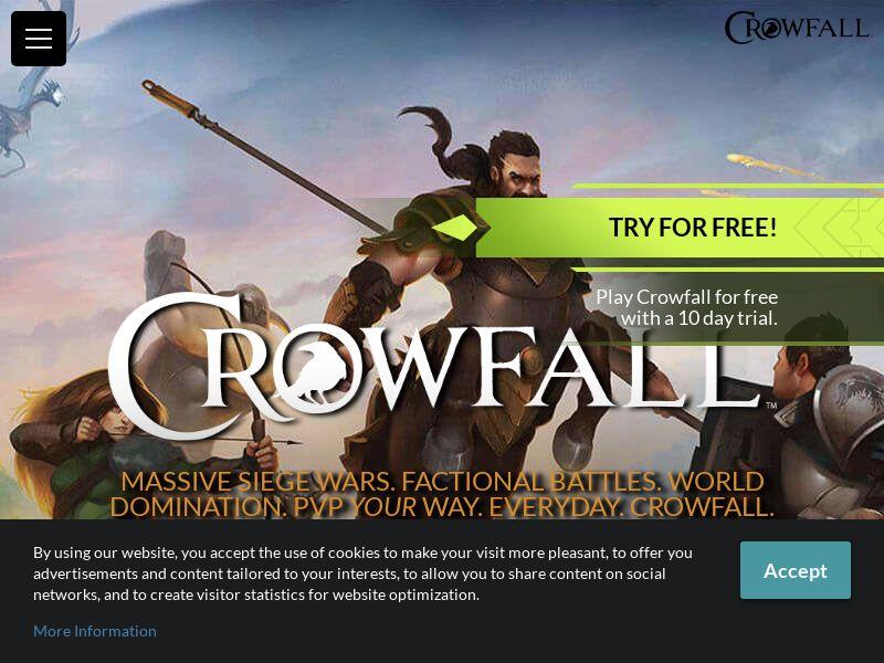 Crowfall RU CIS CPA