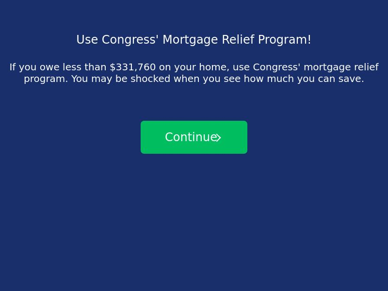 LowerMyBills Mortgage Refinance (Short Form)
