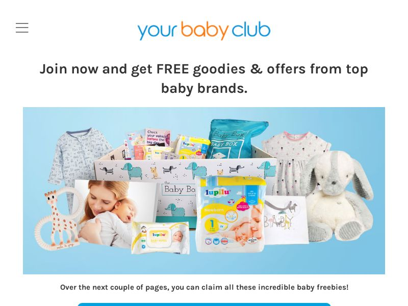 YourBabyClub - Win Baby Freebies - UK - CPA (Converts on 1st page submit)