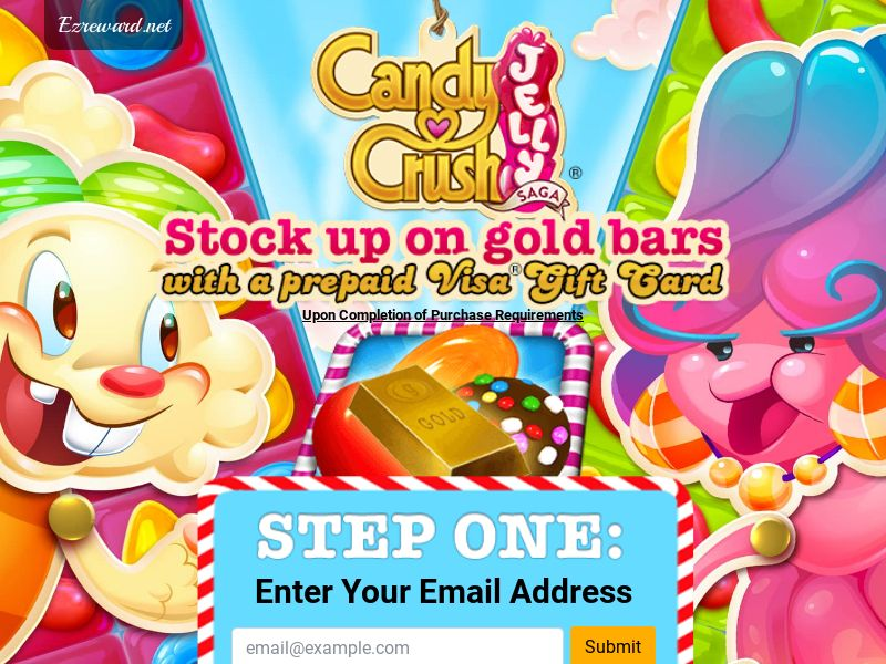 Candy Crush - Incent - CPL - DIRECT