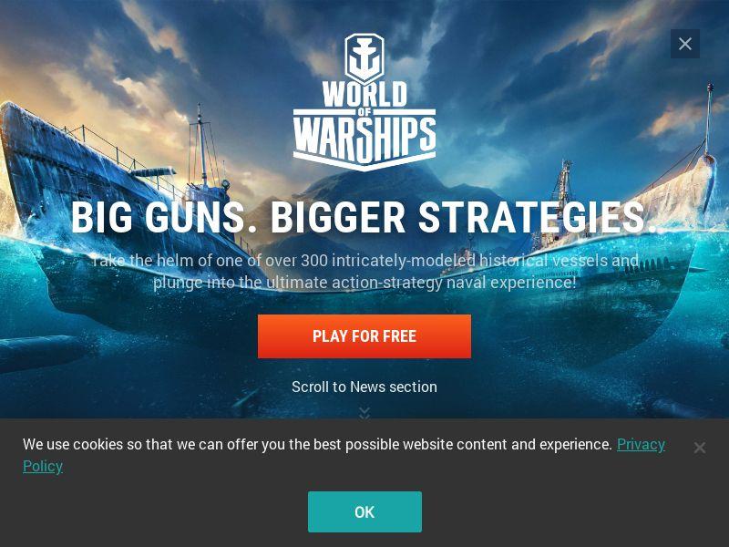 World of Warships   DOI + SOI   Global [RU+CIS Increased Payout]
