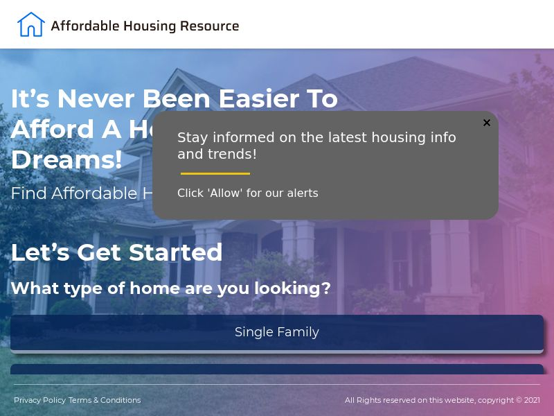 Affordable Housing Resource - CPA | US