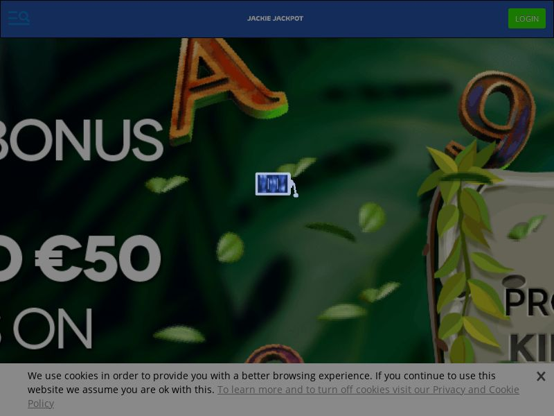 Jackie Jackpot Casino - Exclusive offer KINGDOM150 - CPA | NZ, IE, SLO