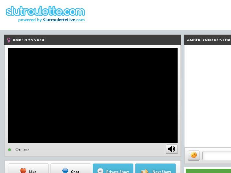 PAUSED- WebCam - Slutroulette.com - DESKTOP - TIER 2 (FR,SE,IT,DK,IE,NO,PR)