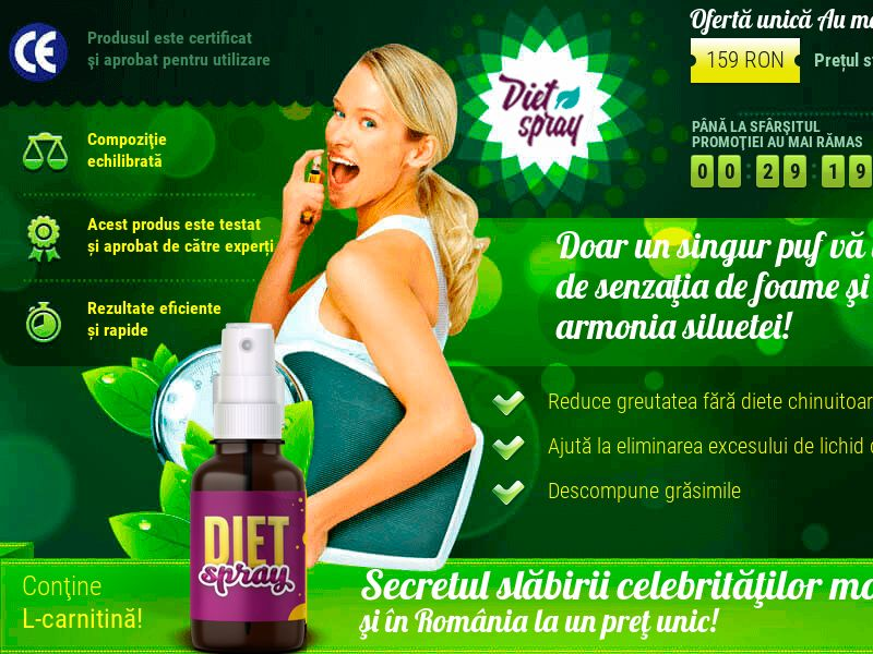 Diet Spray RO - weight loss treatment