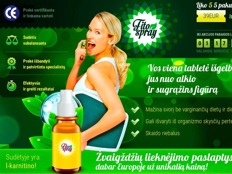 Fitospray LT - weight loss spray