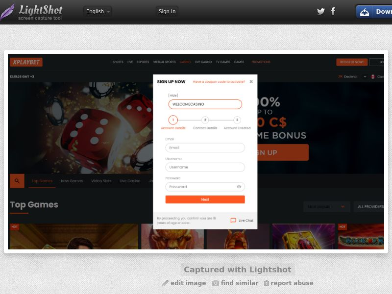 Xplaybet Casino (DE, AT, CA, FI, AU, ES, IT) (CPS) (Personal Approval)
