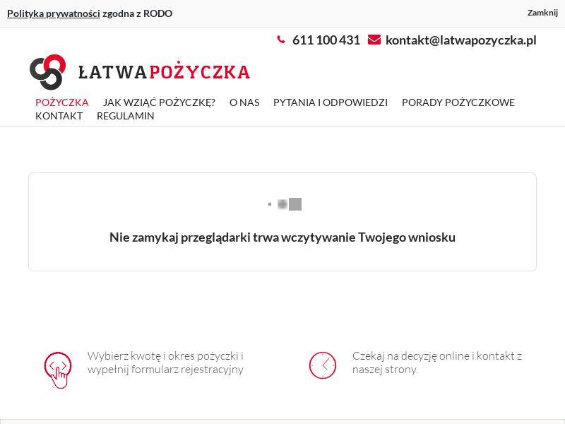 Łatwa Pożyczka (PL), [CPS], Business, Loans, Short term loans, Long term loans, Loan Approval, loan, money, credit