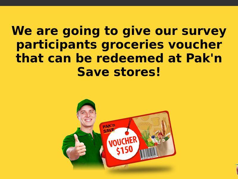 Sweepstake win $150 PAK'n SAVE voucher - SOI CPL - [NZ]