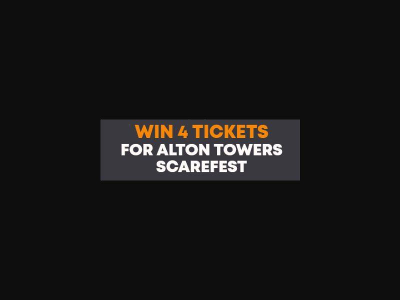 Alton Towers Scarefest - UK