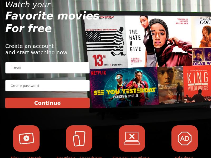 BlackLivesMatter - Streaming - Movie VOD - US - CC Submit