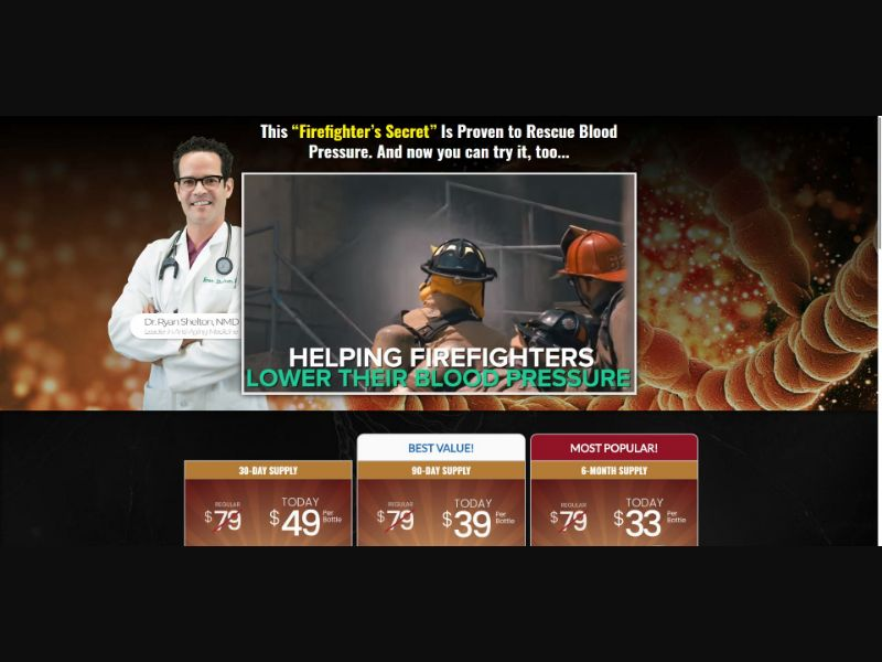 BP Optimizer - Blood Pressure Support - SS - [US]