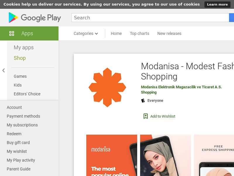 AT - Modanisa (Android Free Tier1 13MB w/capping PRIVATE) CPA - - (SCAPI)