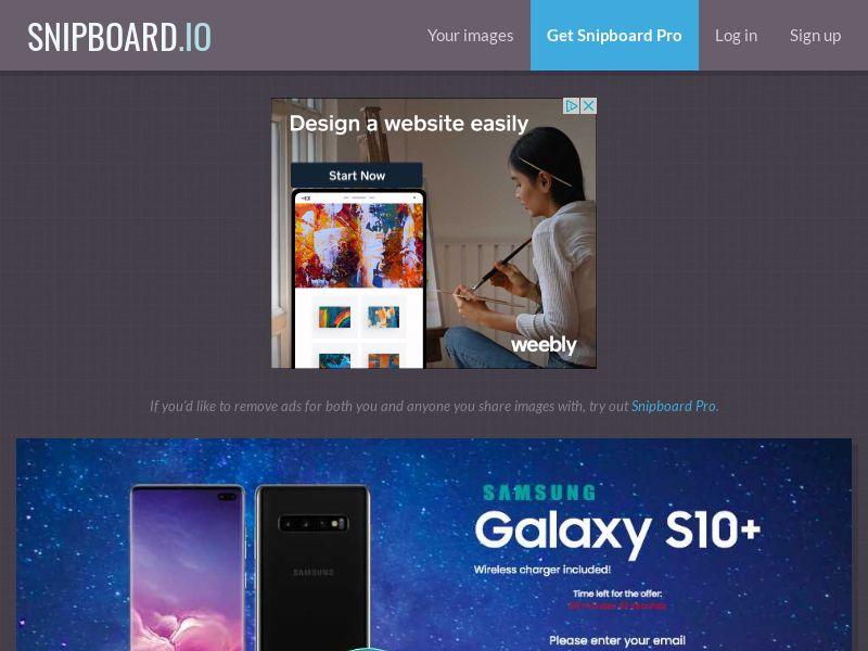 MagnificentPrize - Samsung Galaxy S10 KW - CC Submit