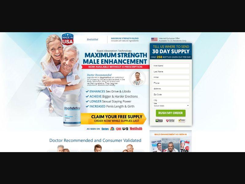 Styphdxfirol - Male Enhancement - SS - NO SEO - [US]