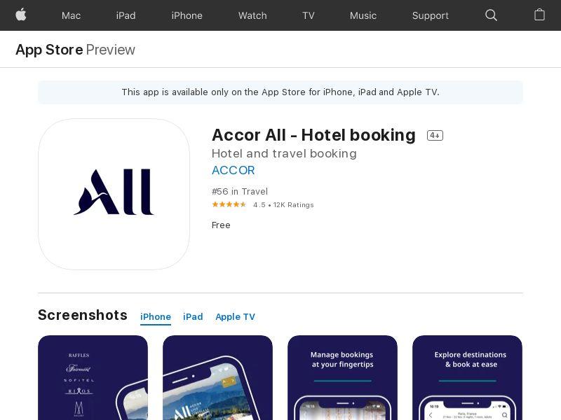 Accor all DE iOS IDFA