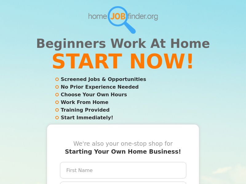 Beginners Work From Home - CPL - US