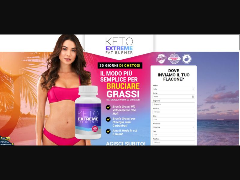 Keto Extreme Fat Burner - Diet & Weight Loss - SS - [IT]
