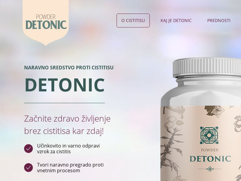 Detonic SI (cystitis)