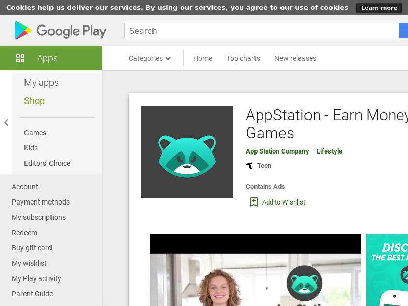 AppStation: Earn Money Playing Games - Android (US) (CPE) (Incent) (Personal Approval)