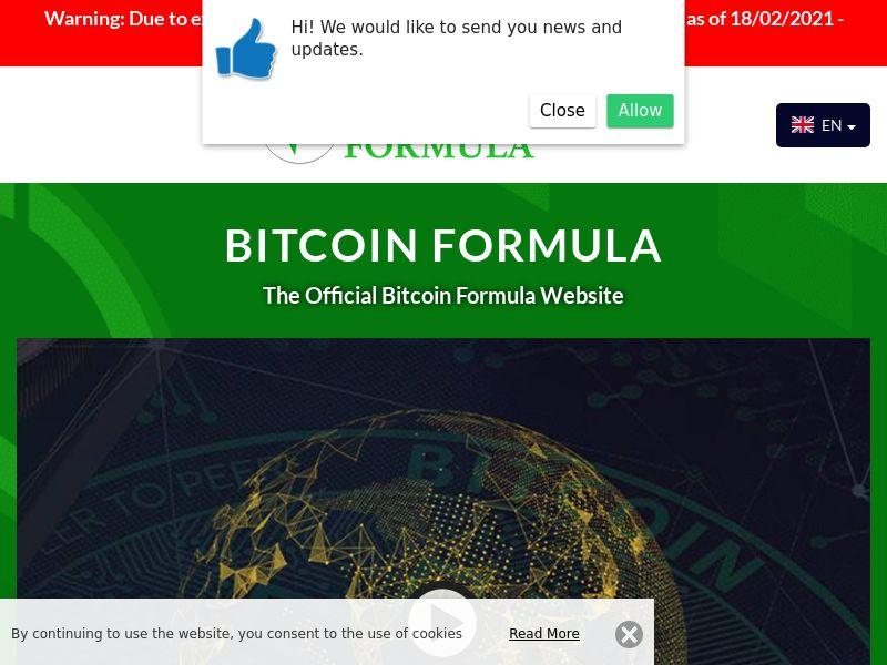 Bitcoin Formula Portuguese 1956