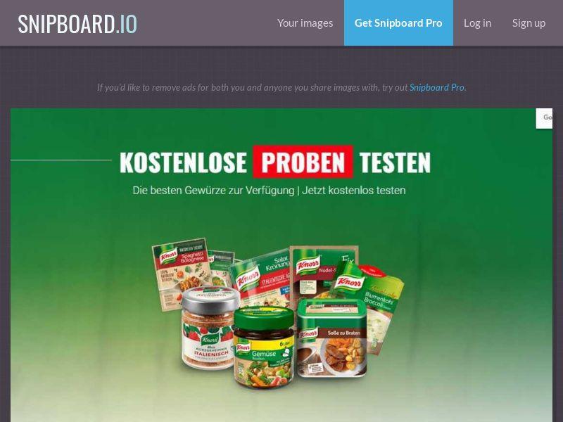 LeadsWinner - Knorr - Mobile and Desktop - DE (SOI)
