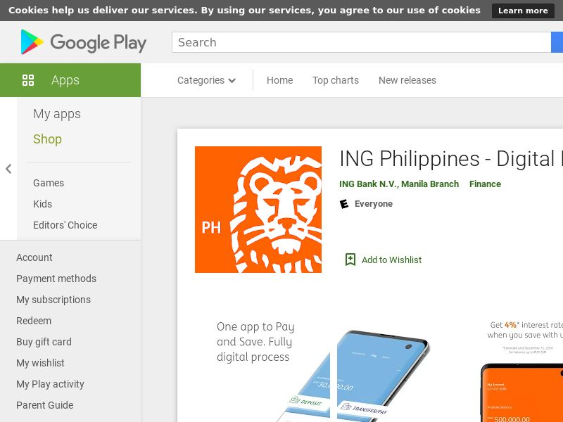 ING Philippines - Digital Bank Android PH