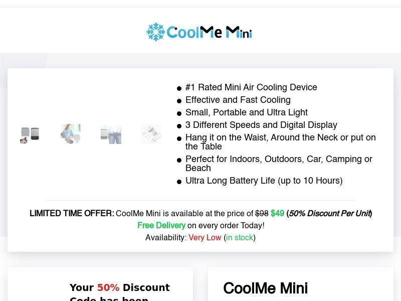 CoolMe Mini (INTL) (CPS)