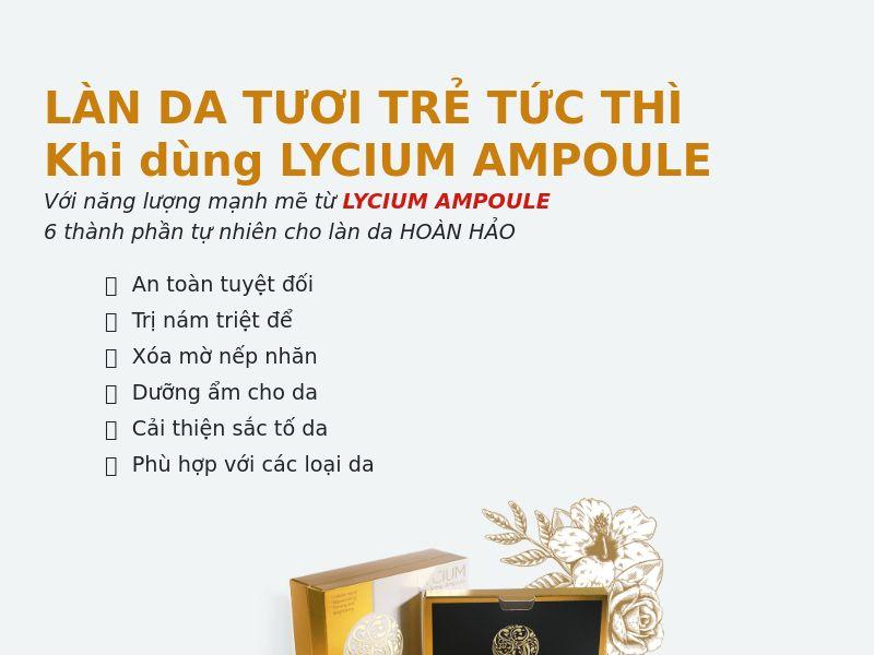 Lycium ampule - COD - [VN]