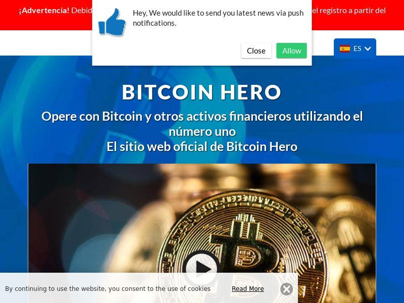 Bitcoin Hero - 2 Spanish 1482