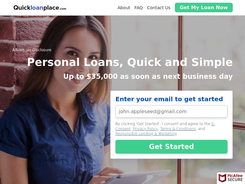 QuickLoanPlace (US) (CPL) (Personal Approval)