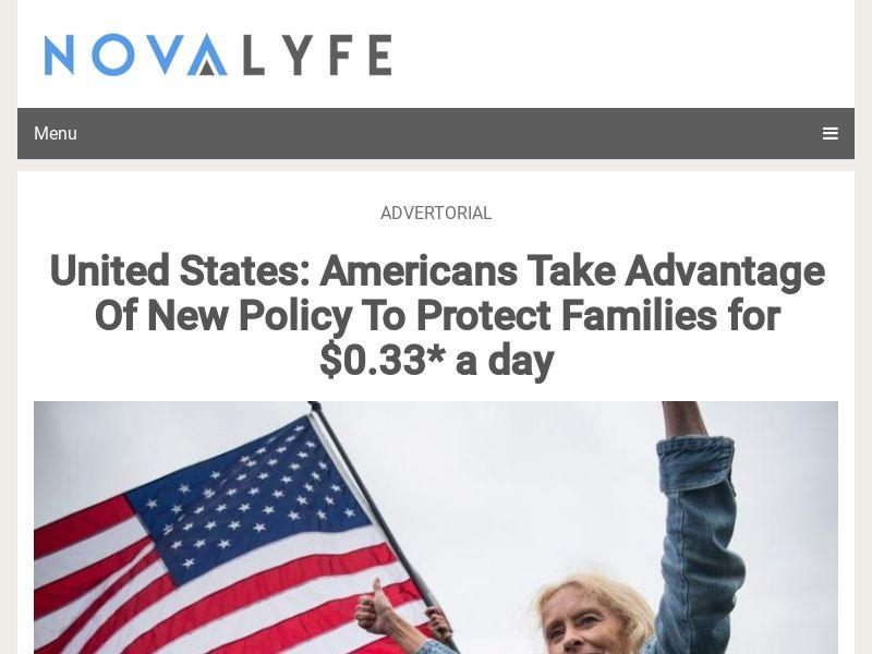 NovaLyfe - Life Insurance - CPL - US - Advertorial [DIRECT]