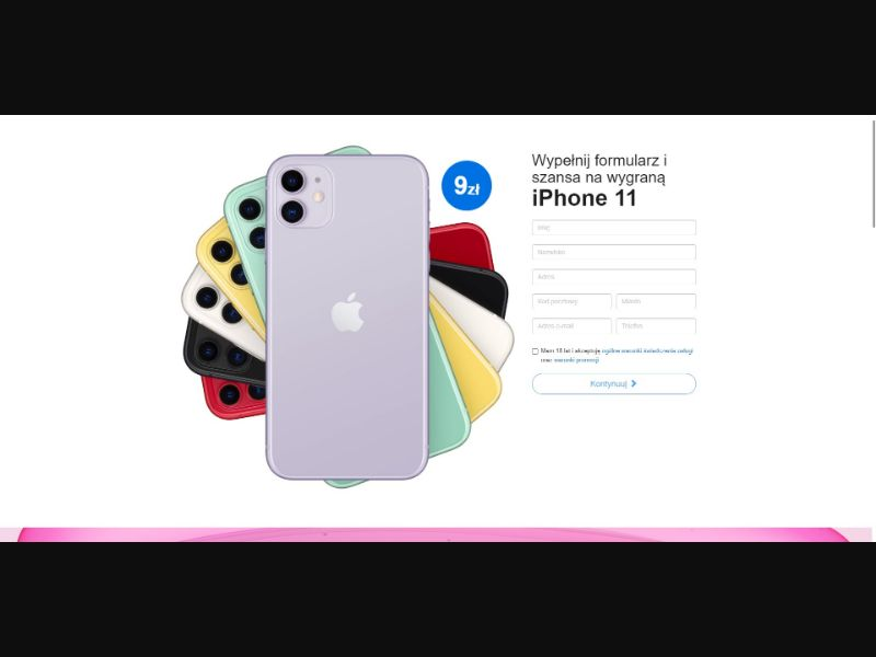 iPhone 11 - V1 - Sweepstakes & Surveys - Trial - [PL]