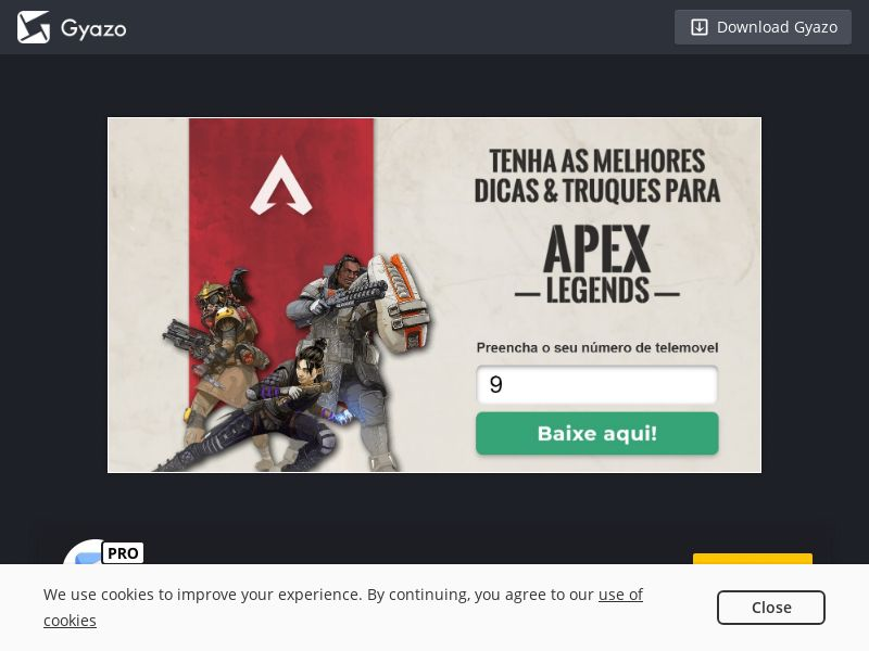 Shoopadoo APEX Legends PT | PIN Submit - Incent