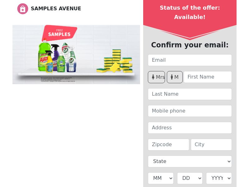 Samples Avenue - Cleaning Products 2021 - CPL - US [EXCLUSIVE]