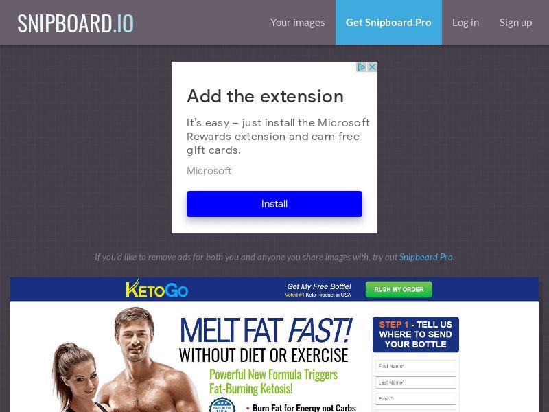 41079 - US - Nutra - Diet - KetoGo - CPA - [NO Incent]