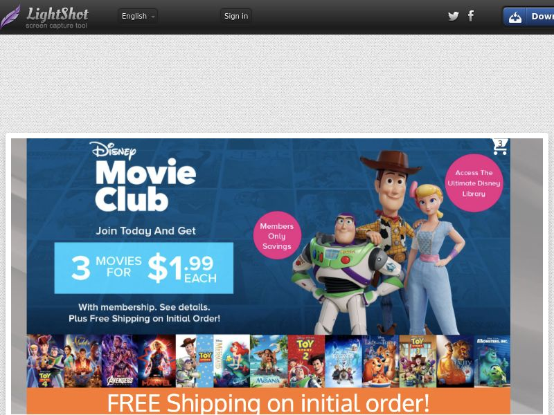 Disney Movie Club (Incent)(US)