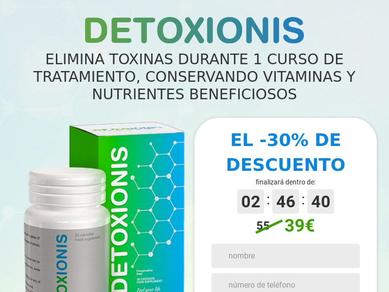 Detoxionis - COD - [ES]