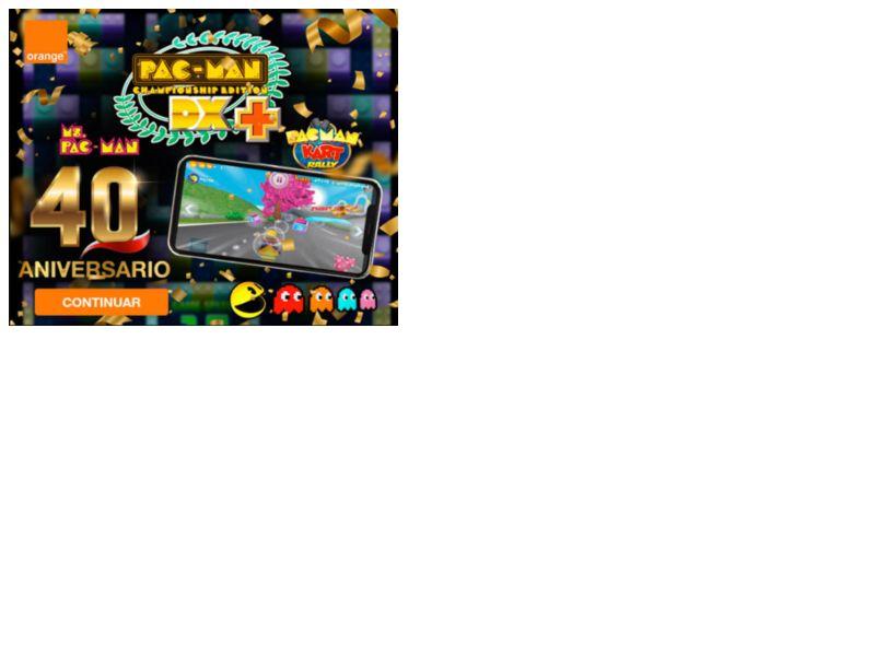 Pacman Games Orange