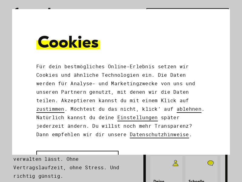 Fraenk Free Trial - Android/IOS CPE - DE