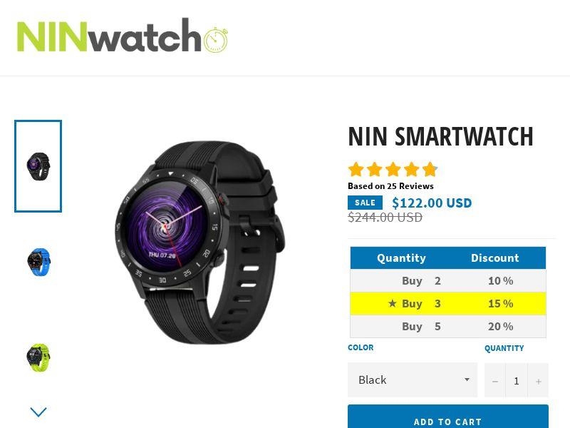 Nin Watch ( NEW** )