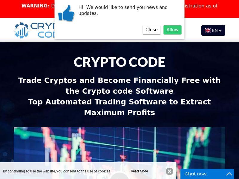 Crypto code English 2245