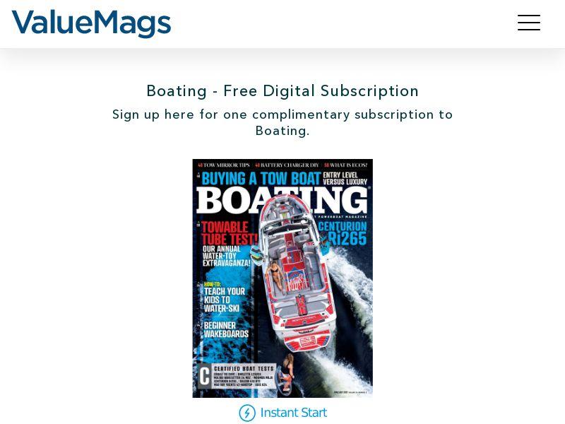 Boating Digital Magazine (US) (CPL) (Incent)