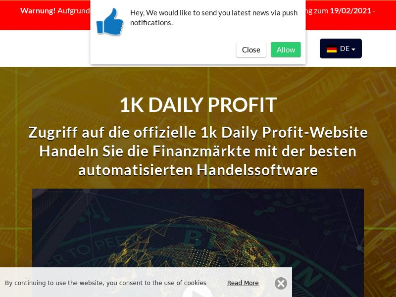 1k Daily Profits German 1941
