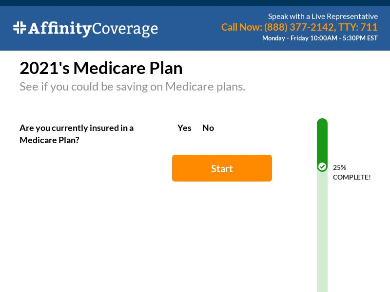 Affinity Coverage Medicare (US) (CPL) (Personal Approval)