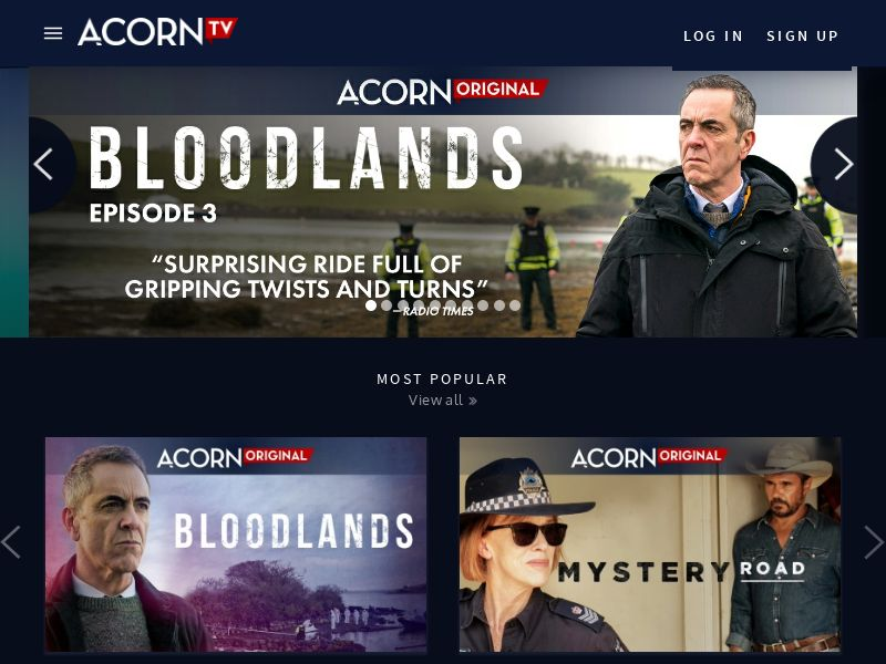 Acorn TV - 30 Day Free Trial (UK) (Trial) (Incent) (Personal Approval)